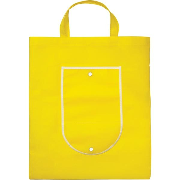 Foldable Shopper-yellow