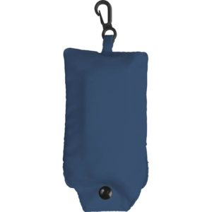Foldable Shopping Bag-blue