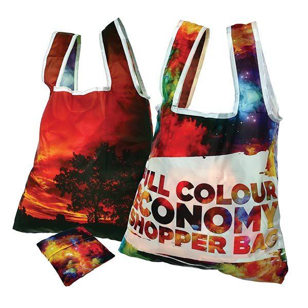 Full Colour Economy Folding Shopper