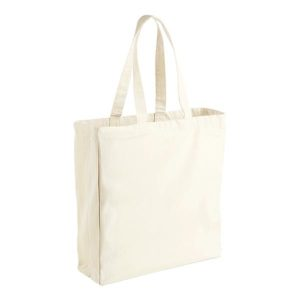 Natural 10oz Canvas Cotton Shopper