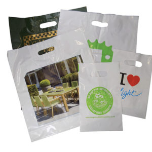 Patch Handle Carrier Bag - Full Colour