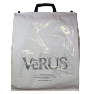 Plastic Carrier Bag with Clip Close Handles