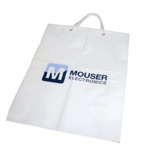 Plastic Carrier Bag with Rope Handles