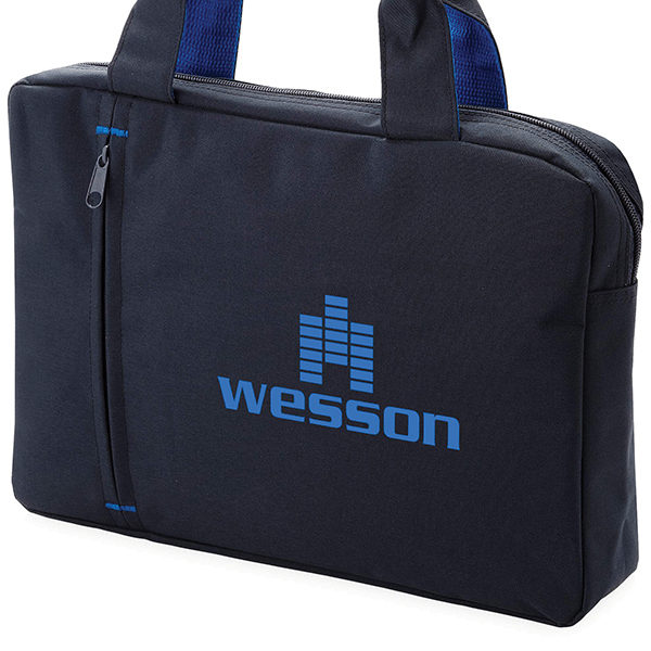 Side Zip Conference Bag