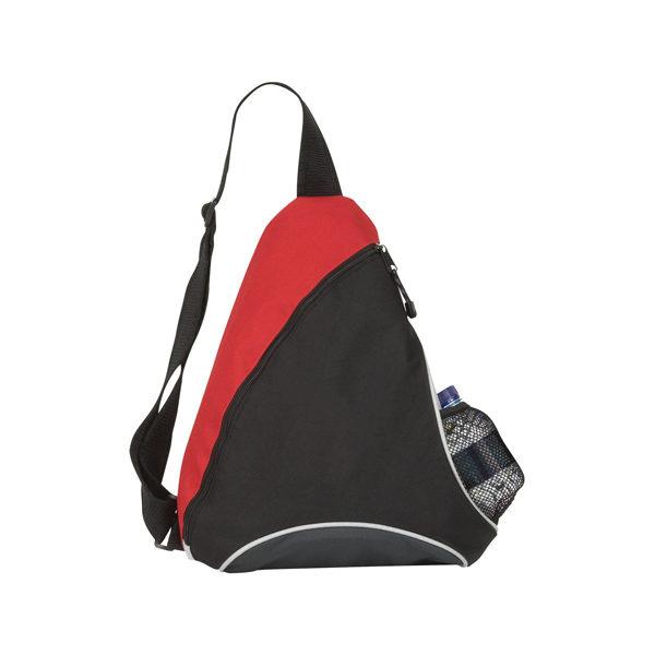 Trio Zipped Mono Strap Backpack