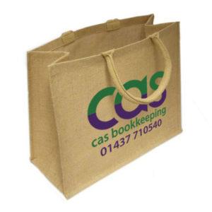 Eco Ash Jute Bag (Large)