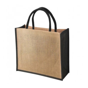 Tembo Coloured Trim Jute Bags