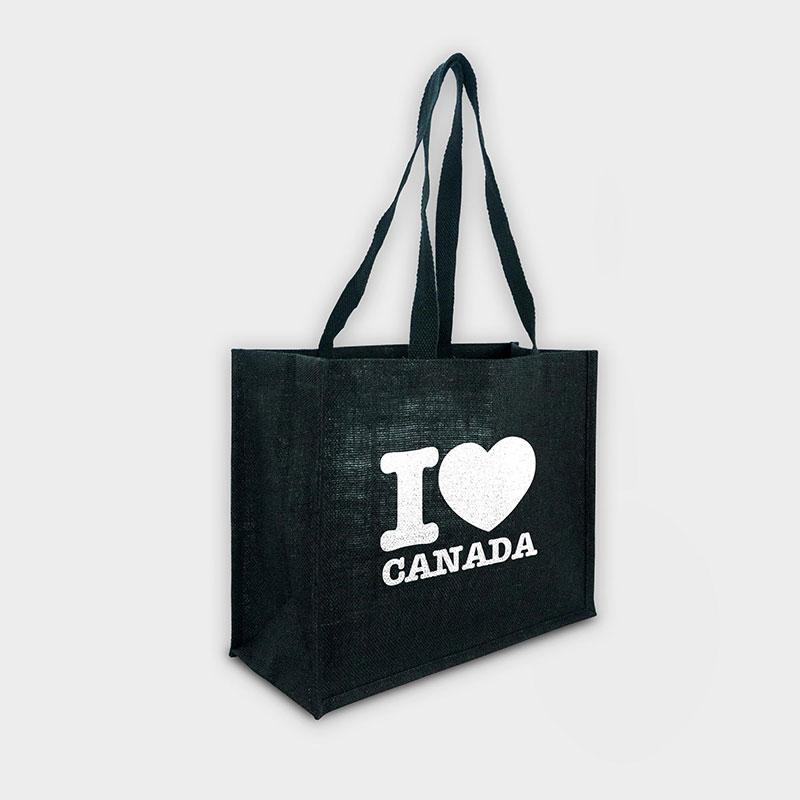 Branded Eco Bag - Green & Good Melrose Jute Bag