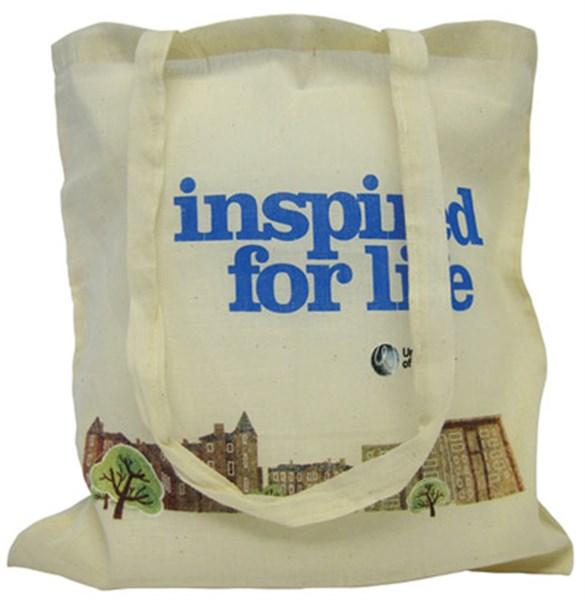 5oz natural reusable printed bag
