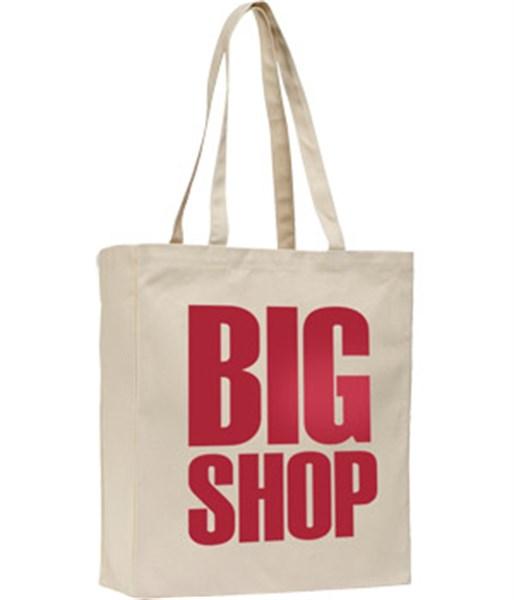 10oz canvas reusable printed bag