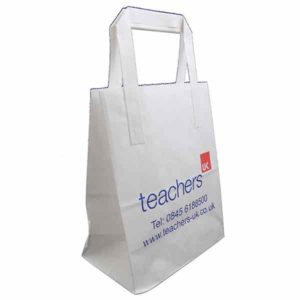 Standard kraft paper bag also available in brown