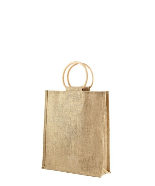 Three bottle jute bag
