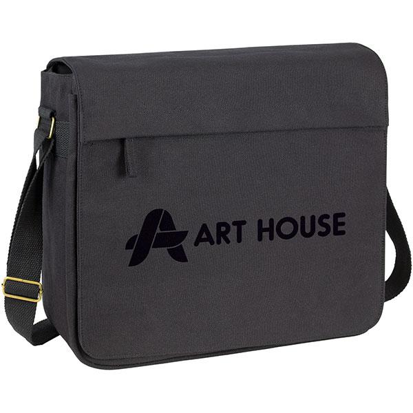 Harbledown Canvas Messenger Bag, Stupid Tuesday's Bag Store