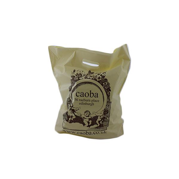 200g Sugar Cane Green/Polyethylene Carrier Bag – F/C, Stupid Tuesday's Bag Store