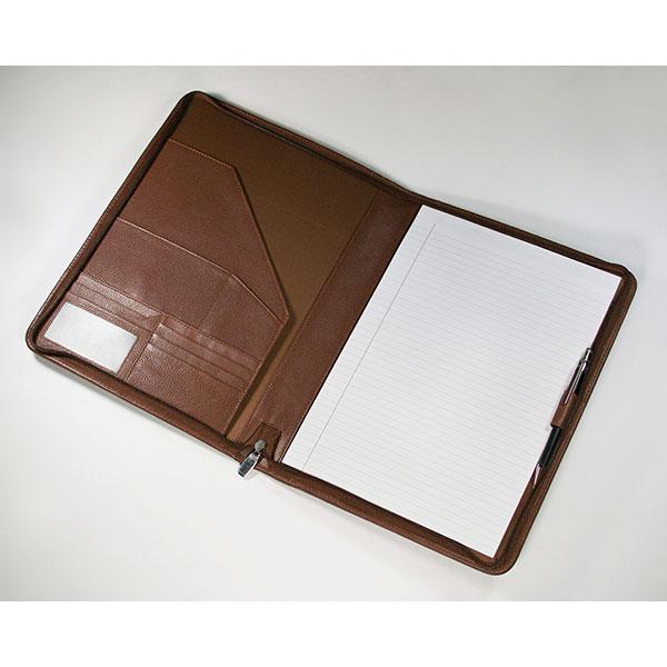 Branded folder. The Melbourne
